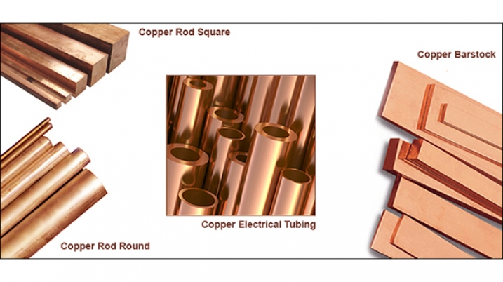 copper bar rod tubing